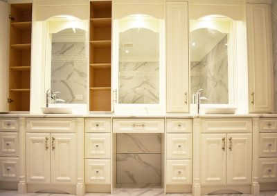 Custom Bathrom Cabinets