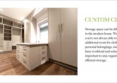 Closet Details