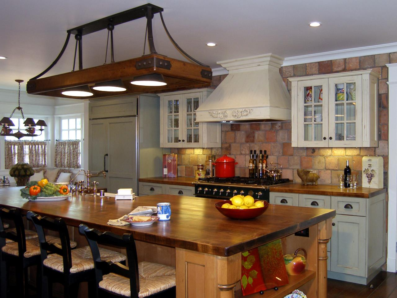 traditional kitchen gallary