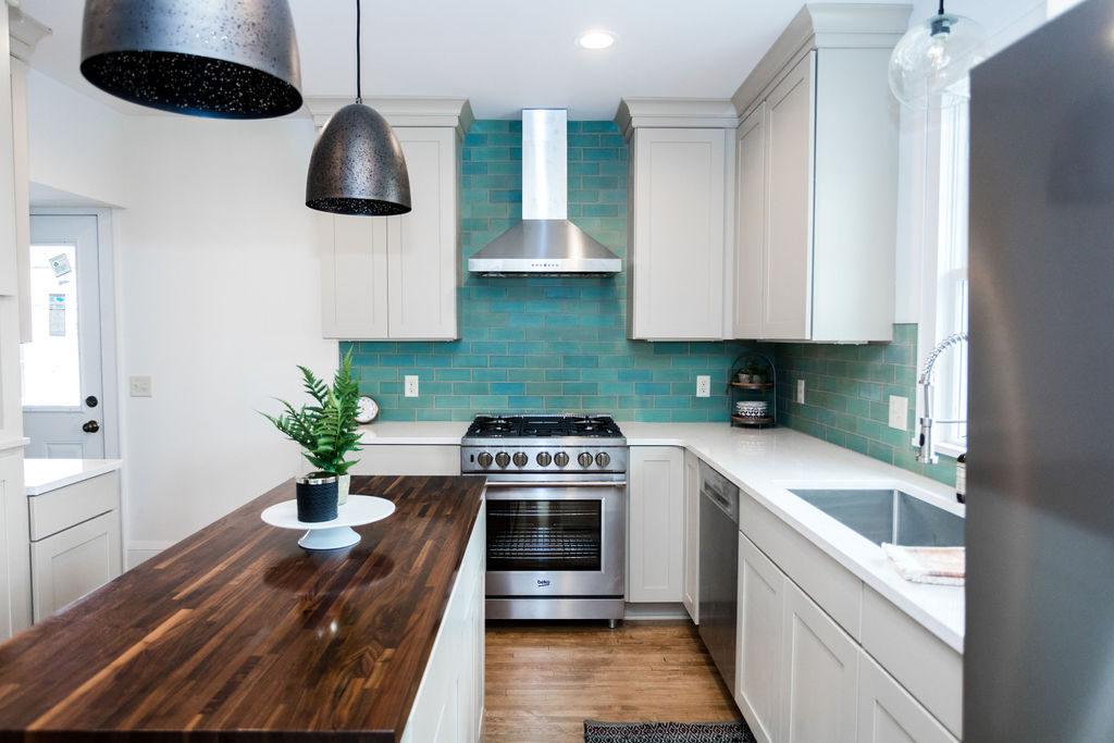 white style kitchen